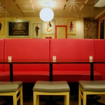 Vibrant Upholstered Bench