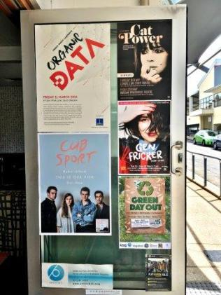 Posters on the street