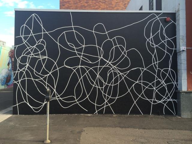 'Wall Painting #32 2014, acrylic on wall, 470 x740cm